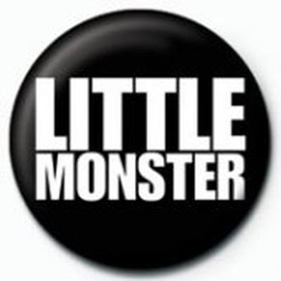 Pyramid International Rozet - Lady Gaga Little Monster