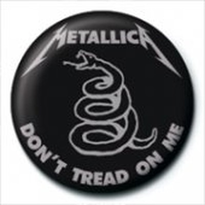 Pyramid International Rozet - Metallica - Don t Tread On Me