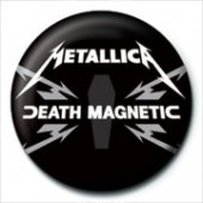 Pyramid International Rozet - Metallica - Death Magnetic