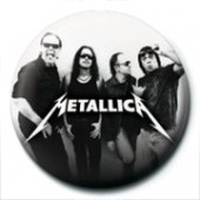 Pyramid International Rozet - Metallica - Group