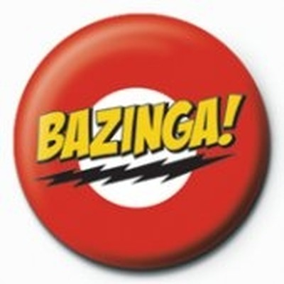 Pyramid International Rozet - The Big Bang Theory Bazinga