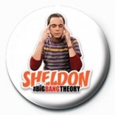 Pyramid International Rozet - The Big Bang Theory Sheldon
