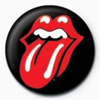 Pyramid International Rozet - Rolling Stones - Lips