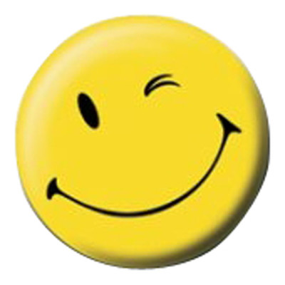 Pyramid International Rozet - Smiley - Wink