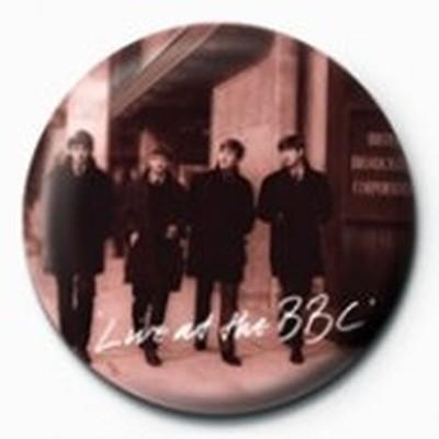 Pyramid International Rozet - The Beatles - Live at The BBC