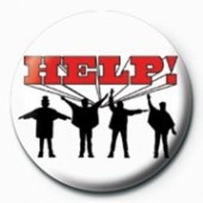 Pyramid International Rozet - The Beatles - Help! Logo