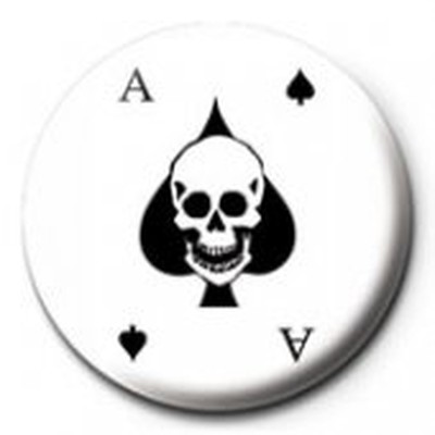 Pyramid International Rozet - Ace Of Spades