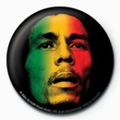 Pyramid International Rozet - Bob Marley - Face