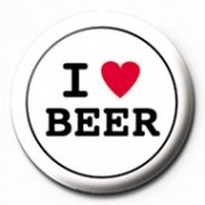 Pyramid International Rozet - I Love Beer