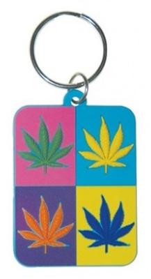 Pyramid International Cannabis Pop Art Anahtarlık
