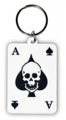 Pyramid International Ace Of Spades Anahtarlık