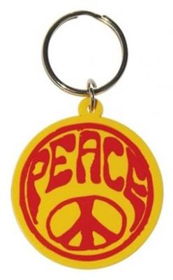 Pyramid International Hippie Peace Symbol Anahtarlık