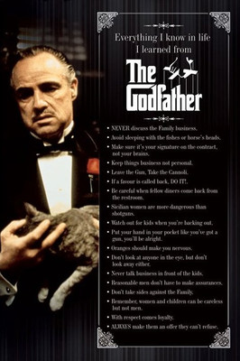 Pyramid International Maxi Poster - The Godfather - Everything I Know