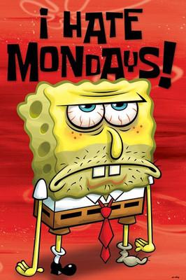 Pyramid International Maxi Poster - Spongebob - I Hate Mondays