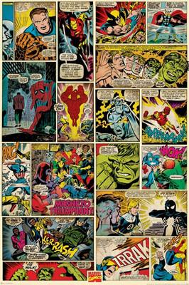 Pyramid International Maxi Poster - Marvel Comics - Comic Panels