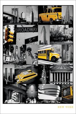 Pyramid International Maxi Poster - New York Collage