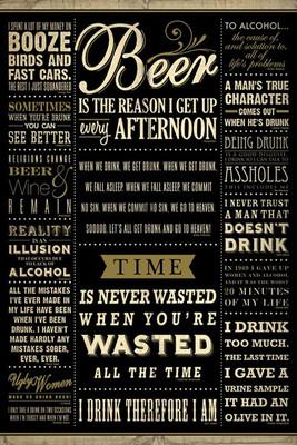 Pyramid International Maxi Poster - Drinking Quotes