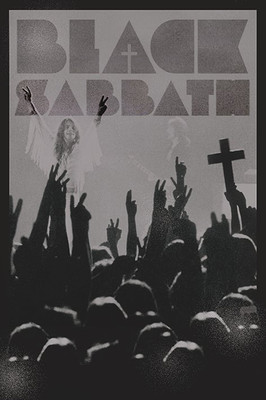 Pyramid International Maxi Poster - Black Sabbath Cross