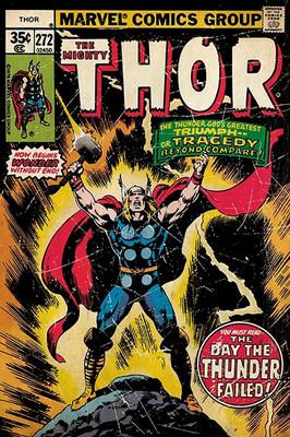 Pyramid International Maxi Poster - Thor - Retro Comic