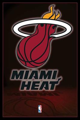 Pyramid International Maxi Poster - NBA Miami Heat Logo