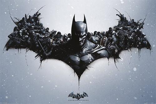 Pyramid International Maxi Poster - Batman Arkham Origins - Logo