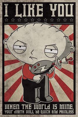 Pyramid International Maxi Poster - Family Guy - Stewie Propaganga