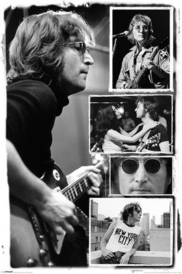 Pyramid International Maxi Poster - John Lennon - Collage Bob Gruen
