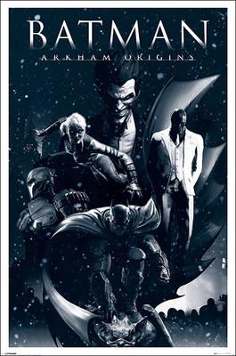 Pyramid International Maxi Poster - Batman Arkham Origins - Montage