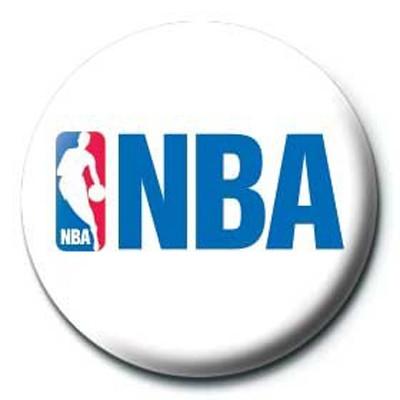 Pyramid International Rozet - NBA Logo