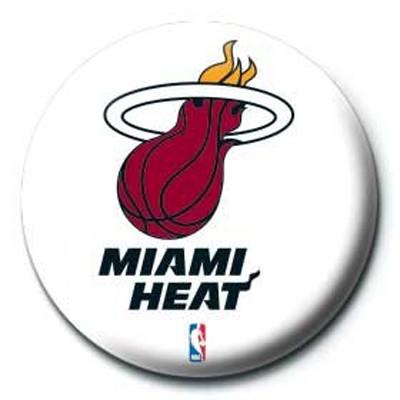 Pyramid International Rozet - NBA Miami Heat Logo
