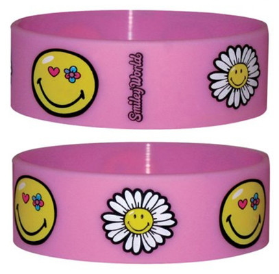 Pyramid International Smiley - Flowers Bileklik