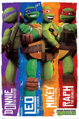 Pyramid International Maxi Poster - TMNT Profiles - Ninja Turtles