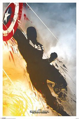 Pyramid International Maxi Poster - Marvel - Captain America - Winter Soldier