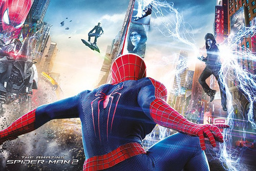 Pyramid International Maxi Poster - Spiderman 2 - Battle
