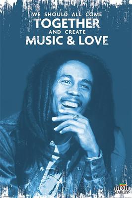 Pyramid International Maxi Poster - Bob Marley - Music And Love