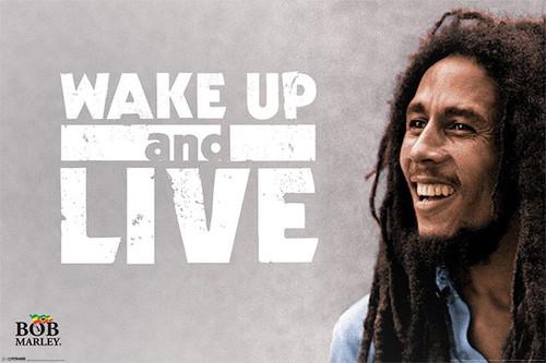 Pyramid International Maxi Poster - Bob Marley - Wake Up And Live