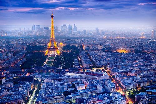 Pyramid International Maxi Poster - View Over Paris