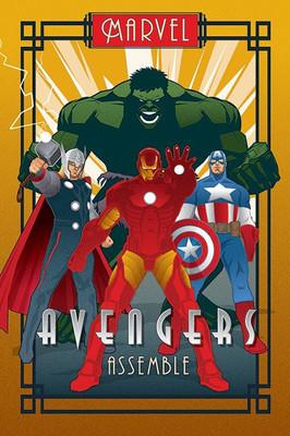 Pyramid International Maxi Poster - Marvel Deco - Avengers