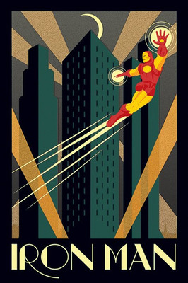 Pyramid International Maxi Poster - Marvel Deco - Iron Man