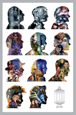Pyramid International Maxi Poster - Doctor Who - Silhouette