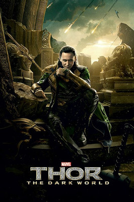 Pyramid International Maxi Poster - Thor 2 - Loki