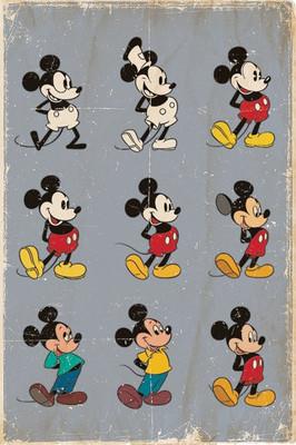 Pyramid International Maxi Poster - Mickey Mouse - Evolution