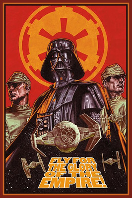 Pyramid International Maxi Poster - Star Wars - Fly For Glory