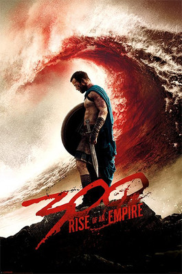 Pyramid International Maxi Poster - 300 Rise Of The Empire - Blood Wave