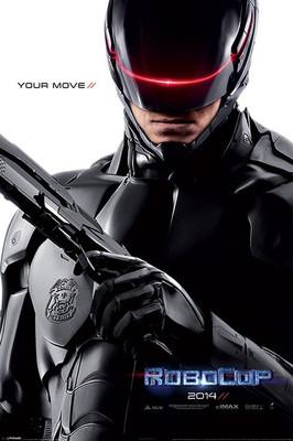 Pyramid International Maxi Poster - Robocop - 2014 Teaser