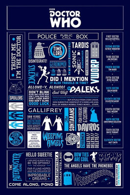 Pyramid International Maxi Poster - Doctor Who - Infographic