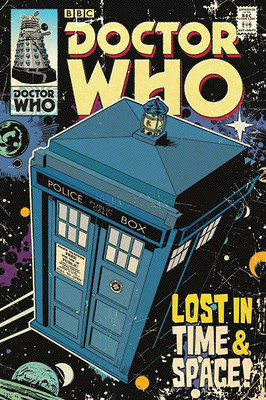 Pyramid International Maxi Poster - Doctor Who - Lost In Time & Space