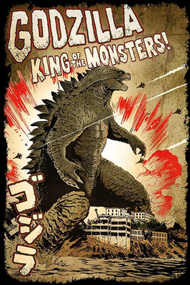 Pyramid International Maxi Poster - Godzilla - King Of The Monsters