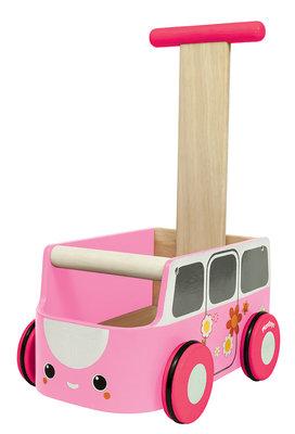 Plan Toys Kamyonet Yürüteç-Pembe (Van Walker-Pink) 5185