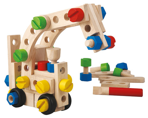 Plan Toys 60 Insaat Seti (60 Construction Set) 5534